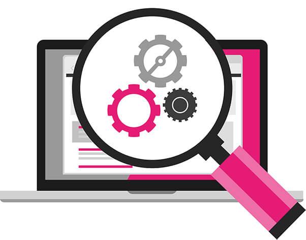 Website Development - Functioning gears on website